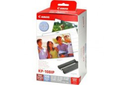 Canon KP - 108 IN Ink & Paper Set Postcard Size for 108 Prints