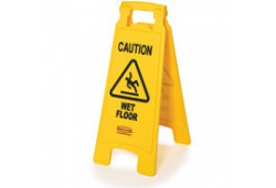 Caution Wet Floor Sign Packed 2