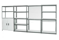 Kenton Storage Rack - 4 in 1 Unit   3660MM X 460MM X 1830MM Can be Customised to over 100 Configurations