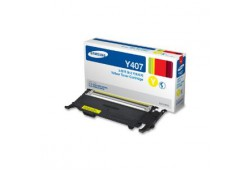Samsung CLTY407 Yellow Toner for CLP320  CLX3185 (1500 Page Yield)